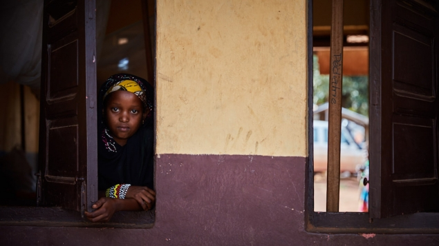 A young girl from the North of Central African Republic ©Institut Pasteur de Bangui
